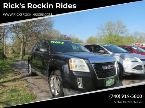 2011 GMC Terrain for sale at Rick's Rockin Rides in Reynoldsburg OH