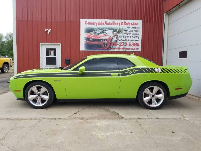 2015 Dodge Challenger for sale at Countryside Auto Body & Sales, Inc in Gary SD