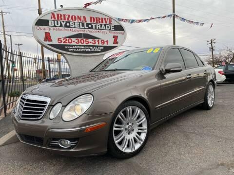 2008 Mercedes-Benz E-Class for sale at Arizona Drive LLC in Tucson AZ