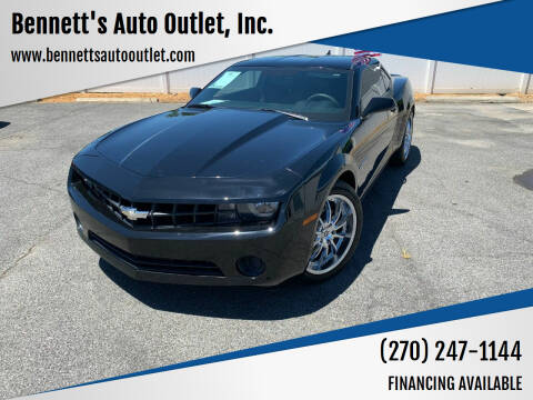 2012 Chevrolet Camaro for sale at Bennett's Auto Outlet, Inc. in Mayfield KY