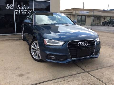2015 Audi A4 for sale at SC SALES INC in Houston TX
