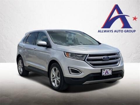 2018 Ford Edge for sale at ATASCOSA CHRYSLER DODGE JEEP RAM in Pleasanton TX