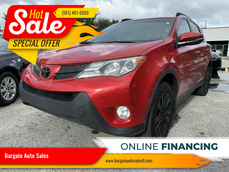 2015 Toyota RAV4 for sale at Bargain Auto Sales in West Palm Beach FL