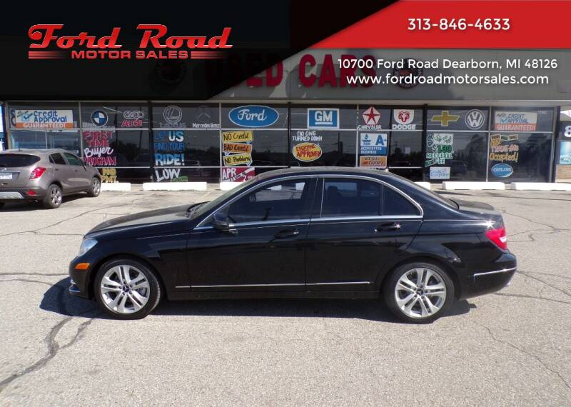 2012 Mercedes-Benz C-Class for sale at Ford Road Motor Sales in Dearborn MI