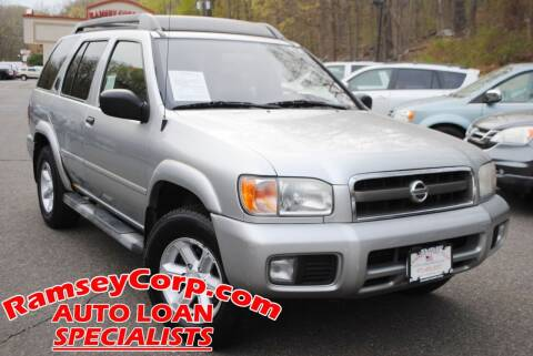 2003 Nissan Pathfinder for sale at Ramsey Corp. in West Milford NJ