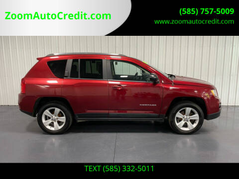 2013 Jeep Compass for sale at ZoomAutoCredit.com in Elba NY