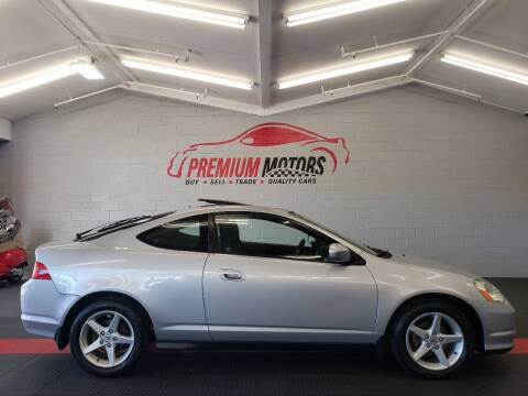 2002 Acura RSX for sale at Premium Motors in Villa Park IL