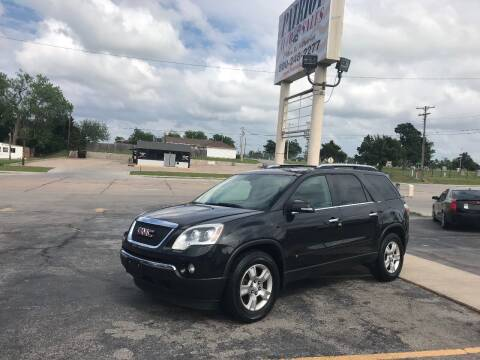 2009 GMC Acadia for sale at Patriot Auto Sales in Lawton OK