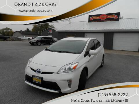 2013 Toyota Prius for sale at Grand Prize Cars in Cedar Lake IN