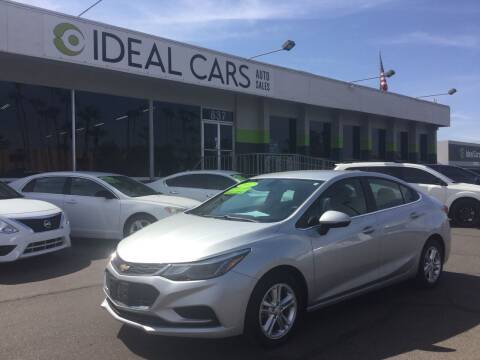 2017 Chevrolet Cruze for sale at Ideal Cars Broadway in Mesa AZ