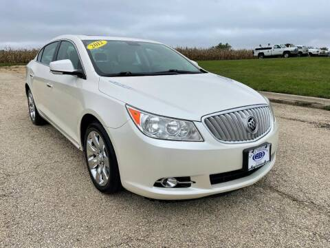 2012 Buick LaCrosse for sale at Alan Browne Chevy in Genoa IL