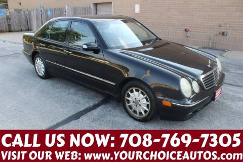2001 Mercedes-Benz E-Class for sale at Your Choice Autos in Posen IL