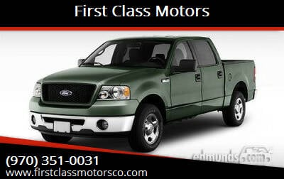 2006 Ford F-150 for sale at First Class Motors in Greeley CO