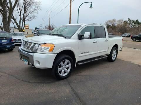 2008 Nissan Titan for sale at Premier Motors LLC in Crystal MN