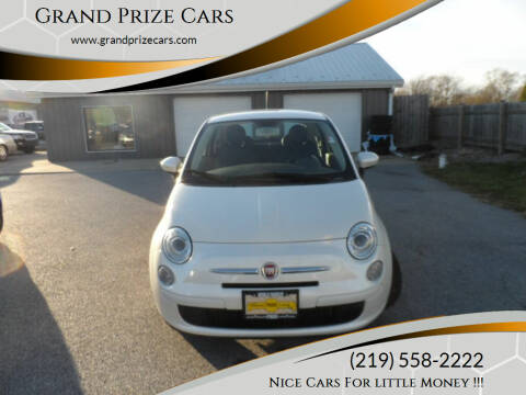 2013 FIAT 500 for sale at Grand Prize Cars in Cedar Lake IN