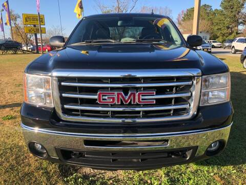 2013 GMC Sierra 1500 for sale at Greenville Motor Company in Greenville NC