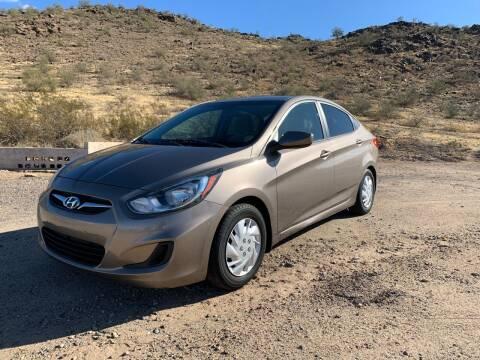 2012 Hyundai Accent for sale at Premier Motors AZ in Phoenix AZ