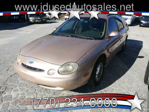1996 Ford Taurus for sale at J D USED AUTO SALES INC in Doraville GA