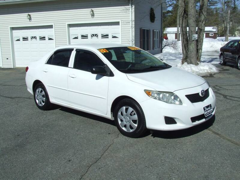 2009 Toyota Corolla for sale at DUVAL AUTO SALES in Turner ME