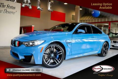 2015 BMW M4 for sale at Quality Auto Center of Springfield in Springfield NJ