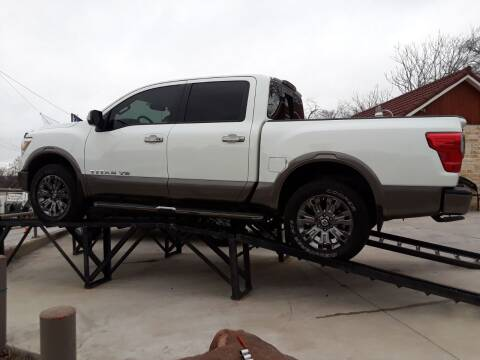 2018 Nissan Titan for sale at Speedway Motors TX in Fort Worth TX