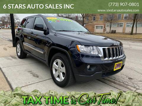 2011 Jeep Grand Cherokee for sale at 6 STARS AUTO SALES INC in Chicago IL