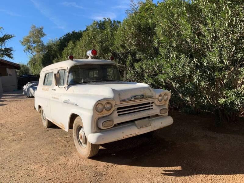 1958 Chevrolet Apache for sale at AZ Classic Rides in Scottsdale AZ
