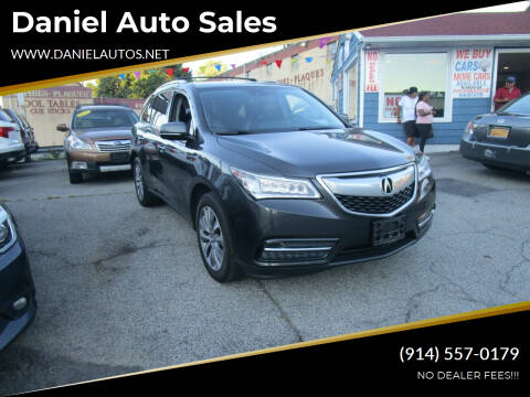 2014 Acura MDX for sale at Daniel Auto Sales in Yonkers NY
