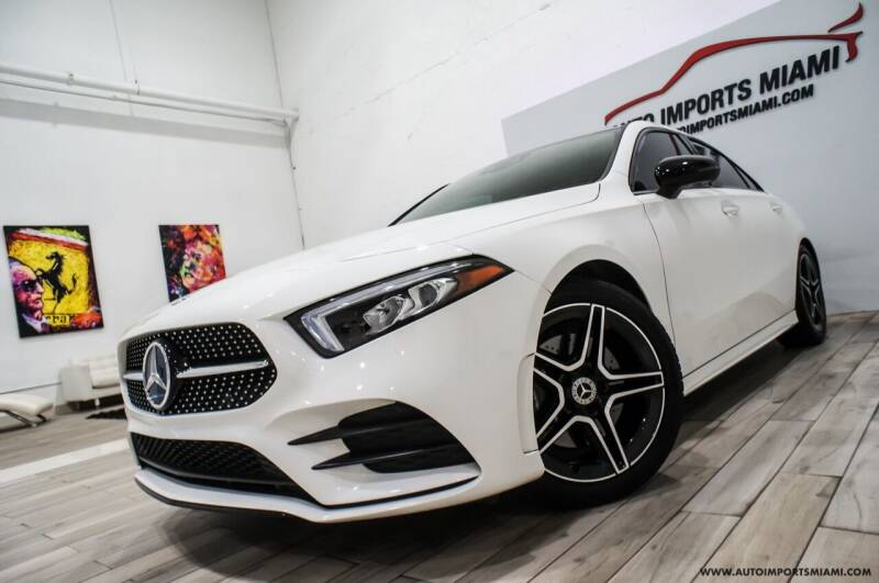 2019 Mercedes-Benz A-Class for sale at AUTO IMPORTS MIAMI in Fort Lauderdale FL