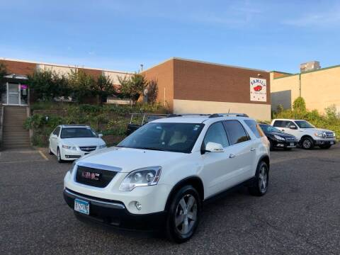 2011 GMC Acadia for sale at Family Auto Sales in Maplewood MN