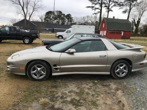 2000 Pontiac Firebird for sale at J Wilgus Cars in Selbyville DE