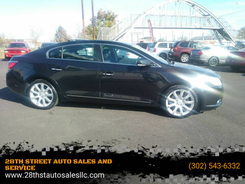 2010 Buick LaCrosse for sale at 28TH STREET AUTO SALES AND SERVICE in Wilmington DE