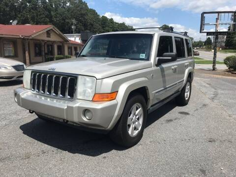2008 Jeep Commander for sale at CAR STOP INC in Duluth GA