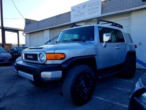 2008 Toyota FJ Cruiser for sale at Falcon Auto Sports LLC in Murray UT