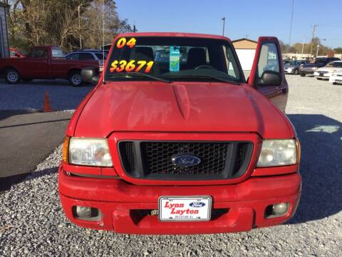 2004 Ford Ranger for sale at K & E Auto Sales in Ardmore AL