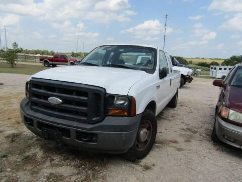 2007 Ford F-250 Super Duty for sale at Hill Top Sales in Brenham TX