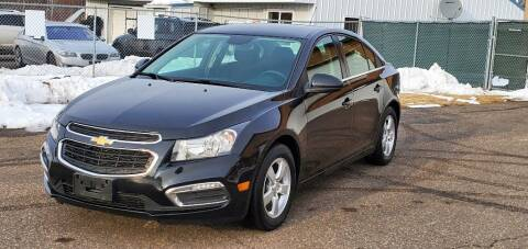 2016 Chevrolet Cruze Limited for sale at Transmart Autos in Zimmerman MN