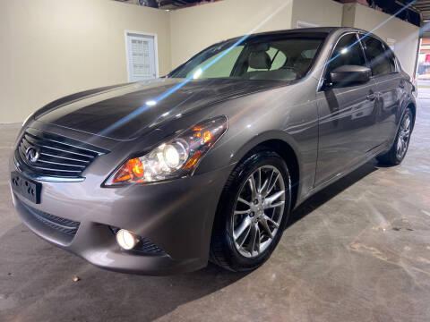 2012 Infiniti G37 Sedan for sale at Safe Trip Auto Sales in Dallas TX