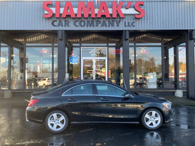 2016 Mercedes-Benz CLA for sale at Siamak's Car Company llc in Salem OR