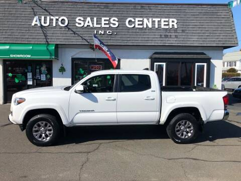 2016 Toyota Tacoma for sale at Auto Sales Center Inc in Holyoke MA