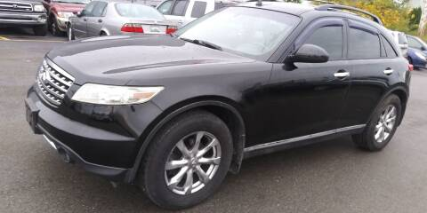 2007 Infiniti FX35 for sale at JG Motors in Worcester MA
