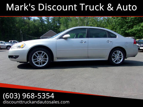 2013 Chevrolet Impala for sale at Mark's Discount Truck & Auto in Londonderry NH