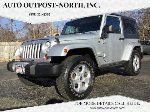 2008 Jeep Wrangler for sale at Auto Outpost-North, Inc. in McHenry IL