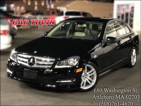 2012 Mercedes-Benz C-Class for sale at Car Town USA in Attleboro MA