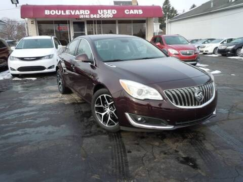2017 Buick Regal for sale at Boulevard Used Cars in Grand Haven MI