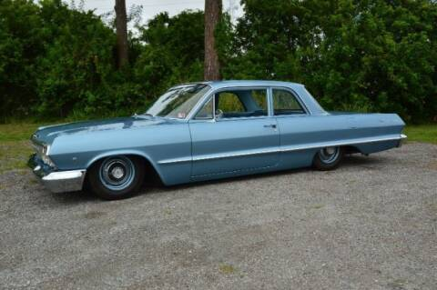 1963 Chevrolet Bel Air for sale at Classic Car Deals in Cadillac MI