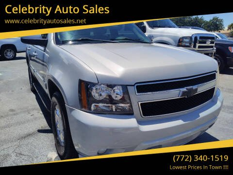 2010 Chevrolet Tahoe for sale at Celebrity Auto Sales in Port Saint Lucie FL