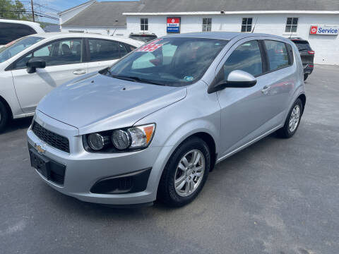 2012 Chevrolet Sonic for sale at Chilson-Wilcox Inc Lawrenceville in Lawrenceville PA