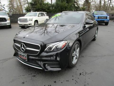 2017 Mercedes-Benz E-Class for sale at LULAY'S CAR CONNECTION in Salem OR