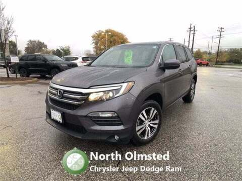 2018 Honda Pilot for sale at North Olmsted Chrysler Jeep Dodge Ram in North Olmsted OH